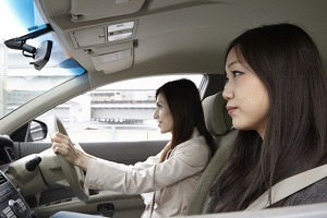 Japanese cars have the steering wheel on the right-hand side
