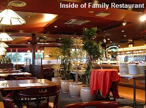 Inside of Family Restaurant