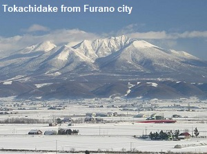 Tokachidake from Furano city