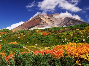Asahidake in autumn