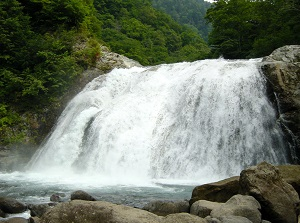 Shikishima waterfall