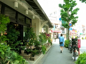 Shops in Shimokitazawa