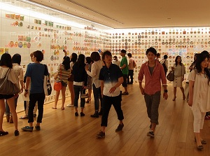 Inside of Cup Noodles Museum