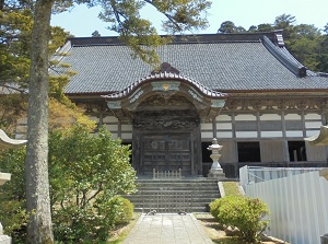 Main temple in Soujiji Soin