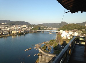 Kiso River and Inuyama Castle