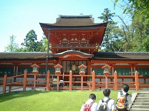 Temples of main shrine