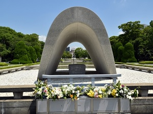 Memorial Cenotaph and Genbaku Dome