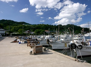 Nokonoshima fishing port